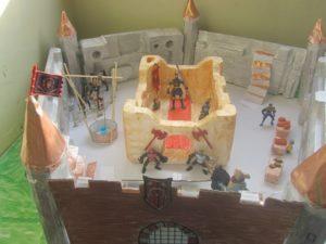 תערוכת דגמים - החברה הפיאודלית בימי הביניים