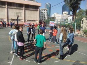 פעילות של הנוער העובד והלומד לשכבת כיתות ז'
