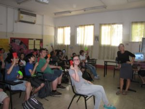 סדנת מנהיגות בשכבת כיתות ט'