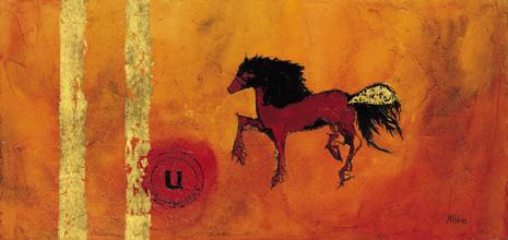 Prehistoric horse paint