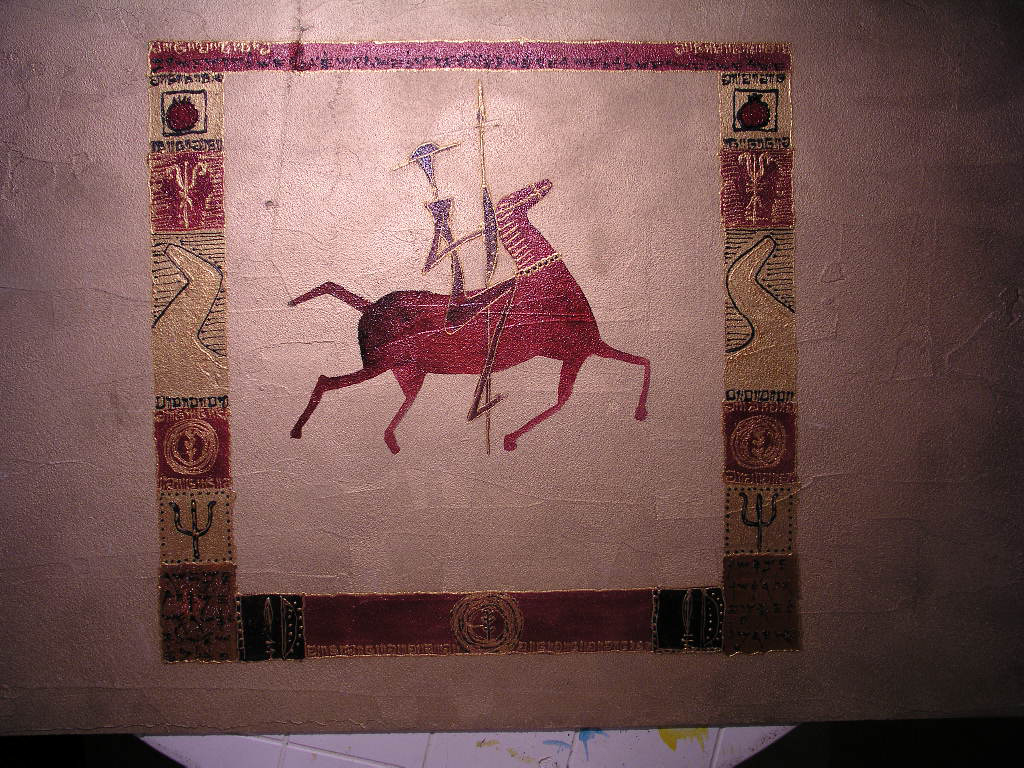 Don Quixote paint