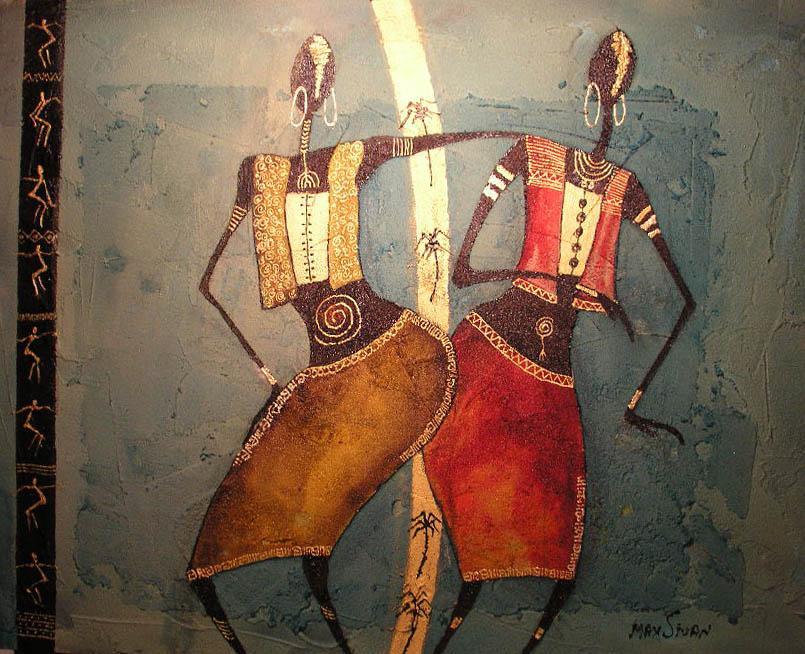 African women dance